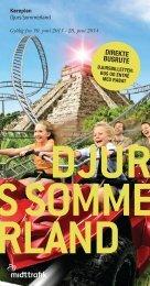 Hent køreplan (pdf) - Djurs Sommerland