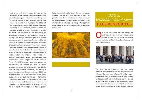 Rome - Assisi - Diaken