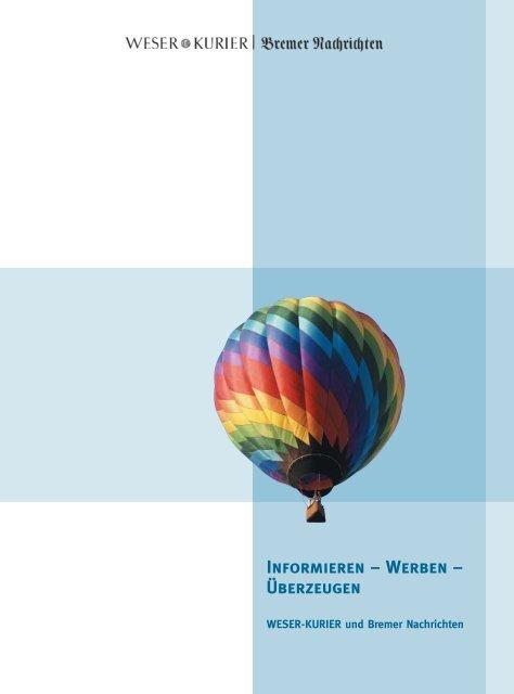 Informieren – Werben – Überzeugen - Weser Kurier
