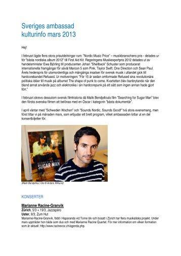 Nyhetsbrev från ambassaden - SWEA International