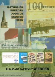 Overzicht Wierdense publicaties - Historische Kring Wederden