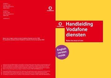 Handleiding Vodafone diensten (256 KB)