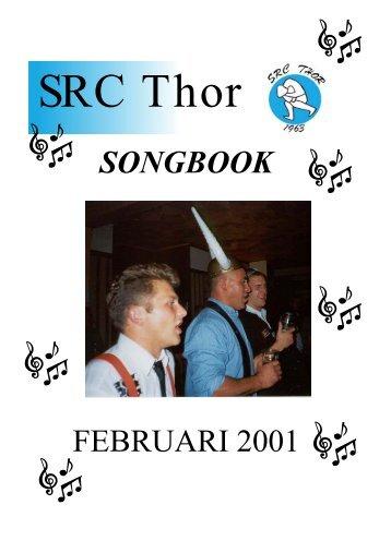 SONGBOOK FEBRUARI 2001 - Horntip
