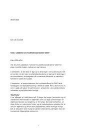 Ældrerådet Den 18.05.2006 Vedr. udtalelse om ... - Århus Kommune