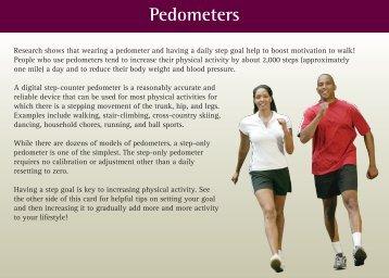 Pedometers - UPMC Health Plan