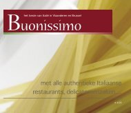 met alle authentieke Italiaanse restaurants ... - In-vorm!