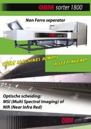 OBM machines always a step ahead! - OBMtec BV