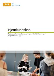 Hjemkundskab - Arbejdsmiljoweb.dk