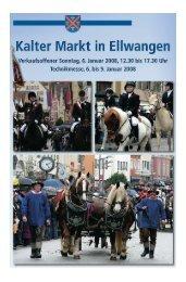 Kalter Markt 2008 - Schwäbische Post