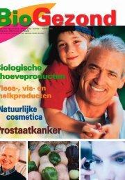 Infoblad over Gezond Leven - 3de jaargang - nummer 1 - BioGezond