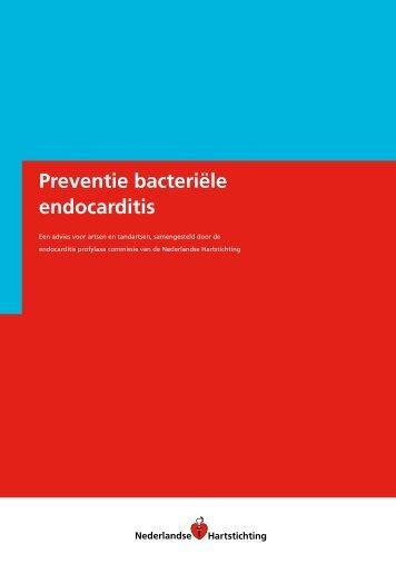 Preventie bacteriële endocarditis - Kwaliteitskoepel