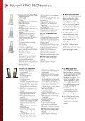 Polycom® KIRK® Wireless handsets - Page 2