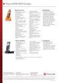 Polycom® KIRK® Wireless handsets - Page 4