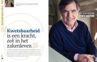 Kwetsbaarheid is een kracht, ook in het zakenleven - Fred Matser