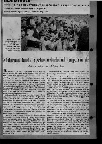 1950-09-01 Södermanlands spelmansförbund 25 år