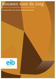 Bouwen voor de zorg - EIB