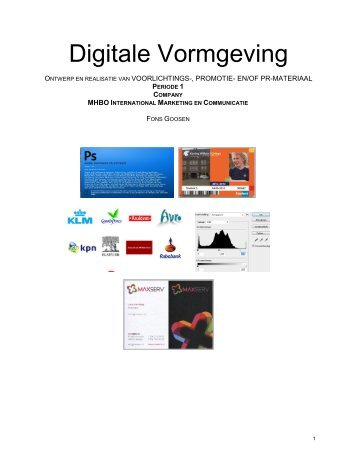 Company - Digitale Vormgeving