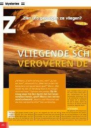 Vliegende schotels - Weet Magazine