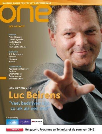 Luc Beirens - ictnews