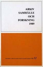 arkiv samhälle och forskning 1989 - Visa filer