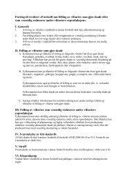 Forslag til revidert «Forskrift om felling av viltarter som gjør skade ...
