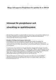 Intresset för pionjärbanor och utveckling av ... - Banportalen