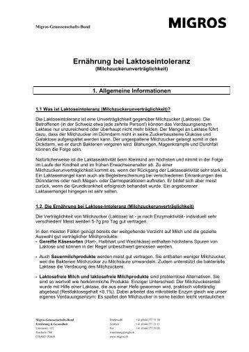 Laktose Info