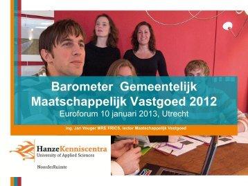 Bekijk hier de volledige presentatie - Euroforum