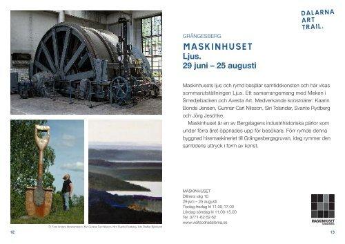Presentation av konstscenerna i Dalarna Art Trail - Dalarna.se