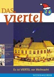Es ist VIERTEL vor Weihnacht - Weser Kurier