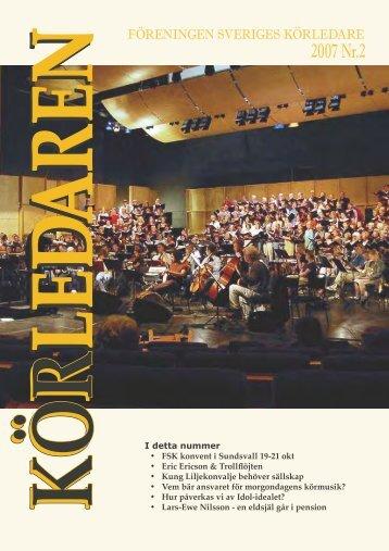 2007 Nr.2 - Föreningen Sveriges Körledare