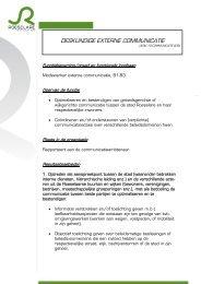 Functieomschrijving - Kortom
