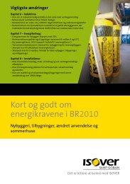 Kort og godt om energikravene i BR2010 - Isover