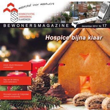 Bewonersmagazine december 2012 - Samenwerking
