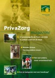 PrivaZorg Magazine - jaargang 4, mei 2007, nr. 1