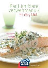 Maaltijdbrochure (pdf) - EasyMeal - 'n smakelijke keus