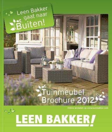 Tuinmeubel Brochure 2012 - Leenbakker