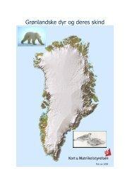 Grønlandske dyr og deres skind