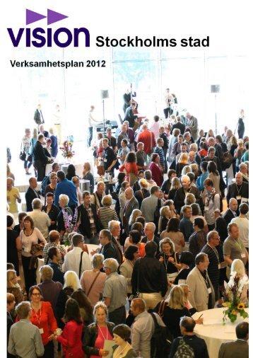 Verksamhetsplan 2008 - Vision