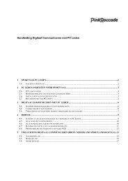 Handleiding Digitaal Communiceren met PC Leden