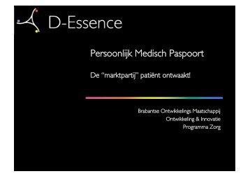 Persoonlijk Medisch Paspoort - Serve2XL