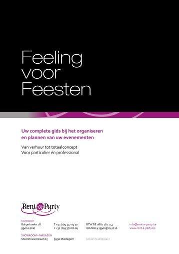 Feeling voor Feesten - Rent a Party