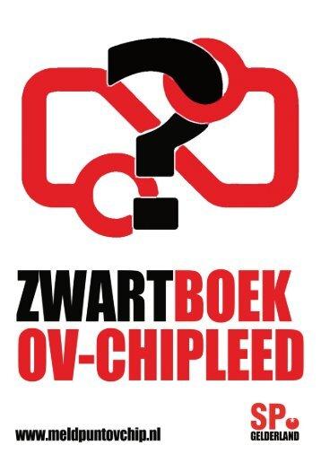 Stuk 1 Zwartboek OV-chipkaart SP - De Stadsregio Arnhem Nijmegen