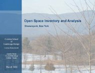 Open Space Inventory - Town of Shawangunk