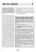 SEPTEMBER 2009 JAARGANG 30 - NR 3 - Federatie - Page 4
