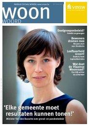 Woonwoord nr. 16 (pdf - 2,48 Mb) - Vlaamse Maatschappij voor ...