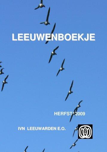Herfst 2009 - IVN - Leeuwarden
