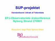 SUP-projektet - EPJ-Observatoriet