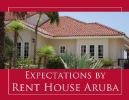 short term rental - Rent House Aruba