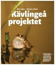 ladda ner broschyren - Kävlingeå-projektet